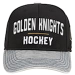 Adidas Vegas Golden Knights Blueline Structured Adjustable Hat - Youth