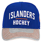 Adidas New York Islanders Blueline Structured Adjustable Hat - Youth