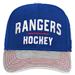 Adidas New York Rangers Blueline Structured Adjustable Hat