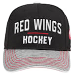 Adidas Detroit Red Wings Blueline Structured Adjustable Hat - Youth