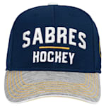 Adidas Buffalo Sabres Blueline Structured Adjustable Hat - Youth