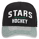 Adidas Dallas Stars Blueline Structured Adjustable Hat - Youth