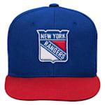 Adidas 2 Tone Flat Brim Hat NY Rangers - Youth
