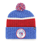 47 Brand Holcomb Pom Knit Hat - New York Rangers - Adult