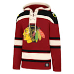 47 Brand Lacer Pullover Hoodie - Chicago Blackhawks - Adult