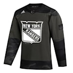 Adidas New York Rangers Military Appreciation Jersey - Adult