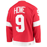 Adidas Detroit Red Wings Heroes Of Hockey Throwback Jersey - Gordie Howe - Adult