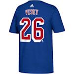 Adidas NY Rangers Vesey Tee - Youth