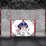 Lightning Sports 4x6 Hockey Goal Complete Trainer W/ Shooter Tutor