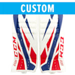 CCM Custom Extreme Flex 4 Goalie Leg Pads - Intermediate