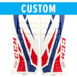 CCM CCM Custom Extreme Flex 4 Goalie Leg Pads - Intermediate