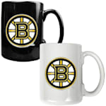 Boston Bruins 15 oz Ceramic Mug Gift Set