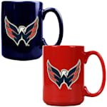 Washington Capitals 15 oz Ceramic Mug Gift Set