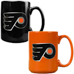 Philadelphia Flyers 15 oz Ceramic Mug Gift Set