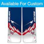 Bauer Digi-Print Custom Vapor 2X Pro Goalie Leg Pads - Senior