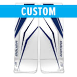 Bauer True Design Custom Supreme 2S Pro Goalie Leg Pads - Senior