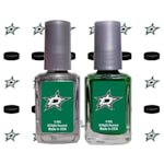 NHL Nail Polish 2 Pack With Decals - Dallas Stars