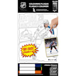Frameworth Nathan Mackinnon NHL Coloring Plaque