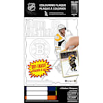 Frameworth David Pastrnak NHL Coloring Plaque