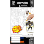 Frameworth Patrice Bergeron NHL Coloring Plaque