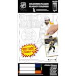 Frameworth Patrice Bergeron NHL Coloring Plaque