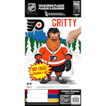 Frameworth Gritty NHL Coloring Plaque