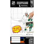 Frameworth Tyler Seguin NHL Coloring Plaque