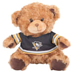 Pittsburgh Penguins 10 Inch Bear Team Jersey