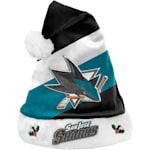 San Jose Sharks Holiday Santa Hat