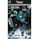 Fathead NHL Teammate San Jose Sharks Brent Burns Wall Decal
