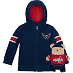 Adidas Washington Capitals Hoodie And Plush Animal - Infant