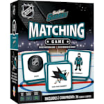 MasterPieces Matching Game- San Jose Sharks