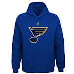 Adidas St. Louis Blues Primary Logo Hoodie - Youth