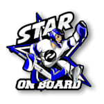Star on Board Boy - Goalie