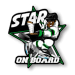 Star on Board Boy - Player