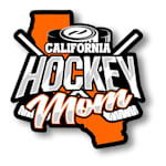 Hockey Mom State Sticker