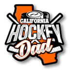 Hockey Dad State Sticker