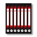 Hockey Stick Name Sticker Kit