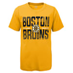 Adidas Hustle Ultra Tee - Boston Bruins - Youth