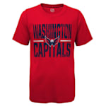 Adidas Hustle Ultra Tee - Washington Capitals - Youth