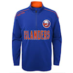 Adidas Attacking Zone 1/4 Zip Performance Top - New York Islanders - Youth
