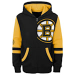 Adidas Faceoff FZ Fleece Hoodie - Boston Bruins - Youth