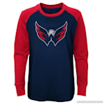 Adidas Undisputed Long Sleeve Crew Tee - Washington Capitals - Youth