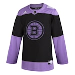 Adidas Hockey Fight Cancer Authentic Practice Jersey - Boston Bruins - Adult