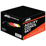 2 Inch Agility Cones - 20 Pack