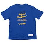 CCM Preferred Short Sleeve Tee Shirt - Cobalt - Youth