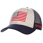 CCM USA Flag Meshback Adjustable Cap