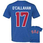 Streaker Sports 1980 Jack O'Callahan Miracle USA Hockey Jersey Tee - Adult