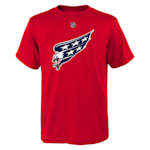 Adidas Washington Capitals Reverse Retro Short Sleeve Tee - Youth