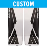 Bauer Custom Supreme UltraSonic Goalie Leg Pads - Senior